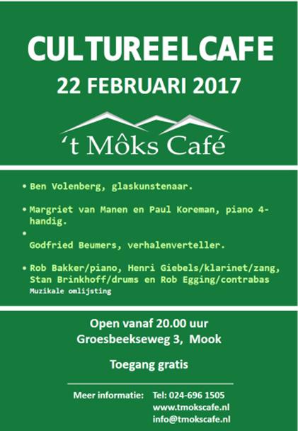 CultureelCafe22februari2017